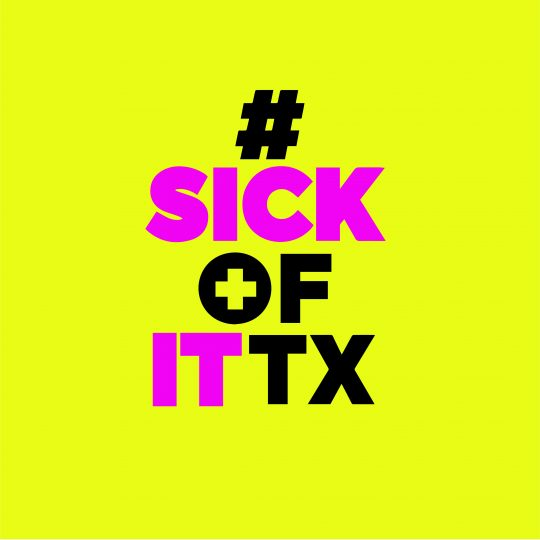 Sick of It Texas Logo Image